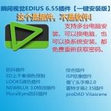 瞬间视觉EDIUS 6.55插件合集【一键安装版】